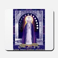 KUAN YIN WATER-MOON GODDESS BLESSINGS Mousepad