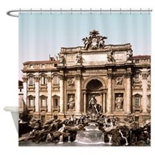 Fountain of Trevi Shower Curtain