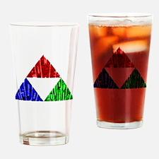Three Virtues Drinking Glass