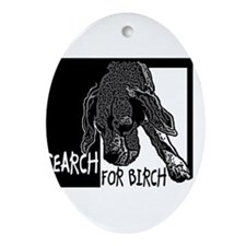 Search for Birch Nathan Ornament (Oval)