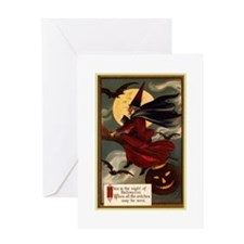 witches may be seen Greeting Card
