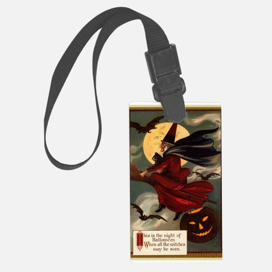 witches may be seen Luggage Tag