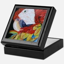 3-Scarlet Macaw.jpg Keepsake Box