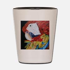 3-Scarlet Macaw.jpg Shot Glass