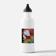 3-Scarlet Macaw.jpg Water Bottle