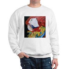 3-Scarlet Macaw.jpg Sweatshirt