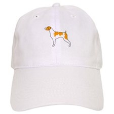Orange Brittany Baseball Cap