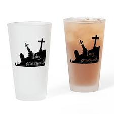i dig graveyards Drinking Glass