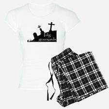 i dig graveyards Pajamas
