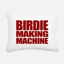 BirdieRed.gif Rectangular Canvas Pillow