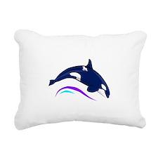 orca.png Rectangular Canvas Pillow