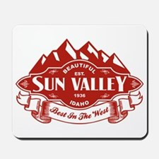 Sun Valley Mountain Emblem Mousepad