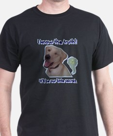 Cute Funny dog toilet T-Shirt