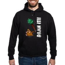 Funny Beaver Hoodie