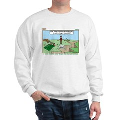 Snoring or Earthquake Sweatshirt