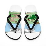 Snoring or Earthquake Flip Flops
