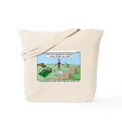 Snoring or Earthquake Tote Bag