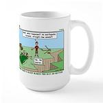 Snoring or Earthquake Large Mug
