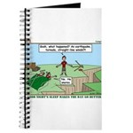 Snoring or Earthquake Journal