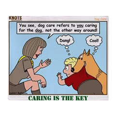 Dog Care Throw Blanket