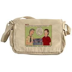 Art Messenger Bag