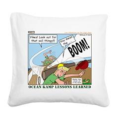 Sailing Square Canvas Pillow