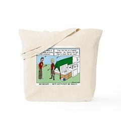 Camp Kitchen Tote Bag