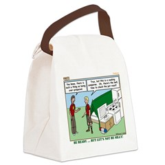 Camp Kitchen Canvas Lunch Bag
