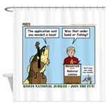 Knots Jamboree Shower Curtain