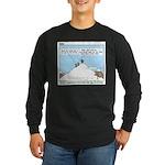 Latrine Location Long Sleeve Dark T-Shirt