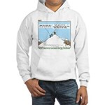 Latrine Location Hooded Sweatshirt