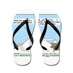 Latrine Location Flip Flops