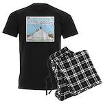 Latrine Location Men's Dark Pajamas