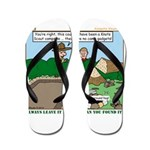 Clean Campsite Flip Flops