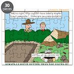 Clean Campsite Puzzle