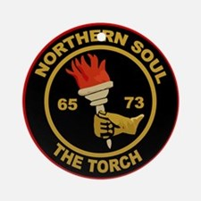 Northern Soul The Torch Ornament (Round)