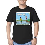Safe Swim Men's Fitted T-Shirt (dark)