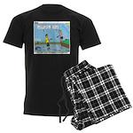 Safe Swim Men's Dark Pajamas