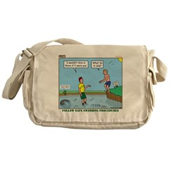 Safe Swim Messenger Bag