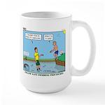 Safe Swim Large Mug