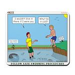 Safe Swim Mousepad