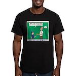 Derby Dad Men's Fitted T-Shirt (dark)