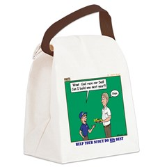 Derby Dad Canvas Lunch Bag