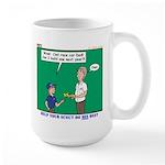 Derby Dad Large Mug