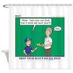 Derby Dad Shower Curtain