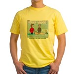 Winter Campout Yellow T-Shirt