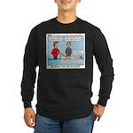 Winter Campout Long Sleeve Dark T-Shirt