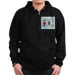 Winter Campout Zip Hoodie (dark)