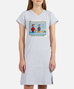 Winter Campout Women's Nightshirt
