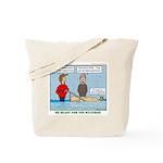 Winter Campout Tote Bag